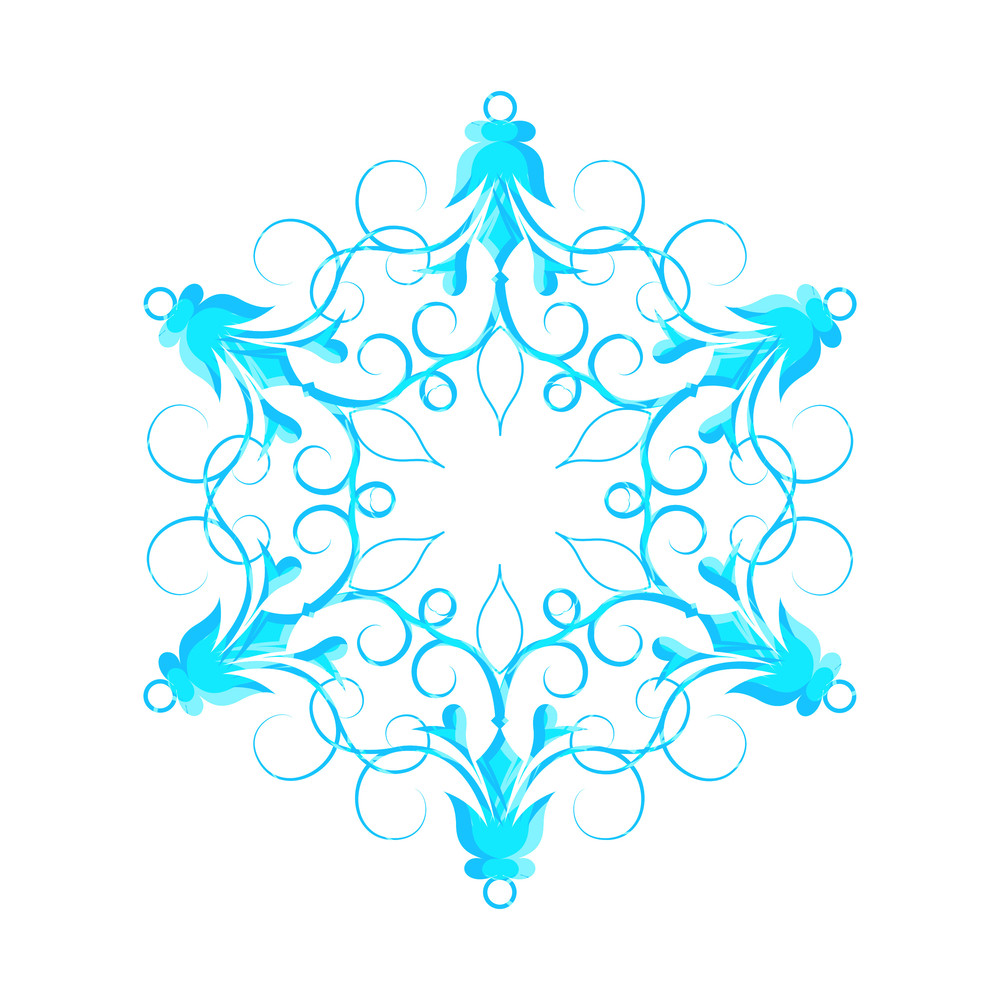 Creative Fancy Snowflake
