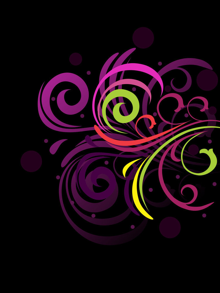 Creative Floral Backgorund