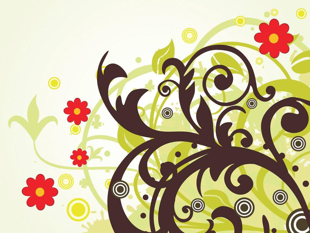 Creative Floral Pattern Background