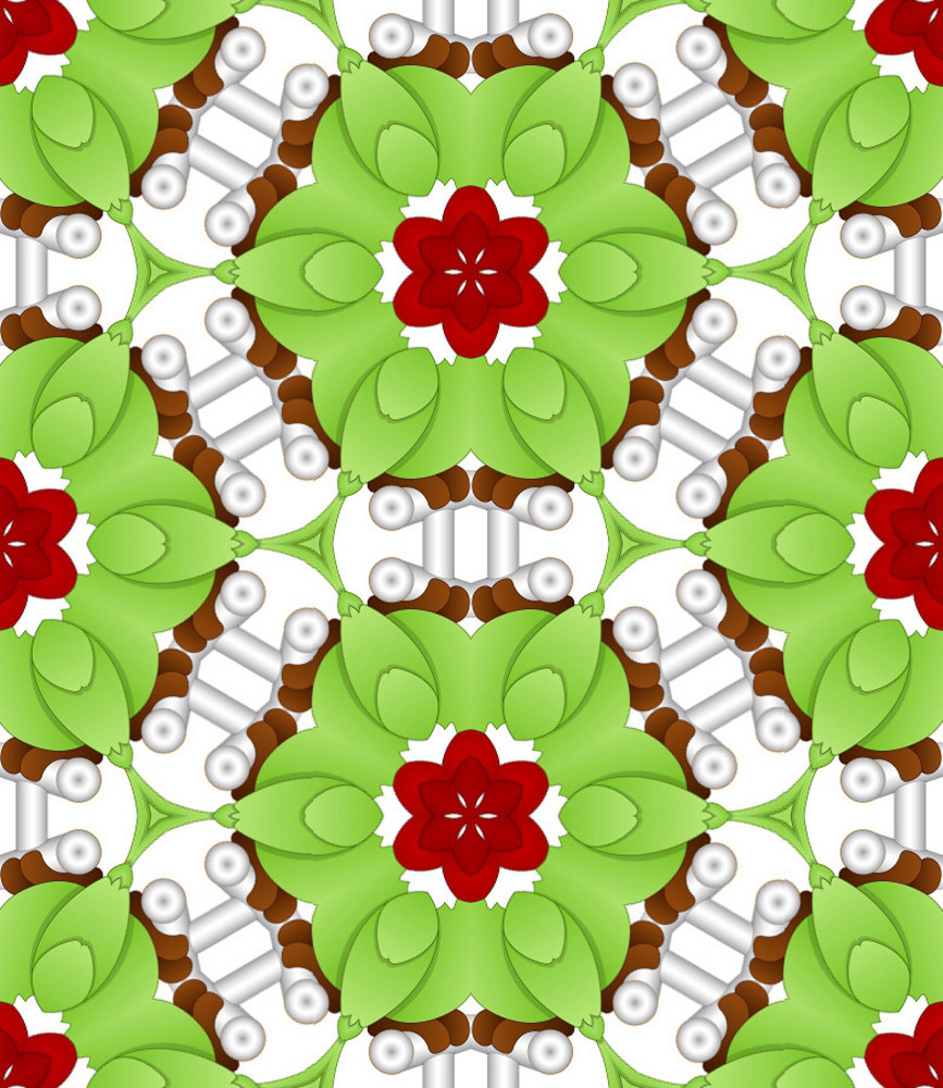 Creative Floral Pattern Design