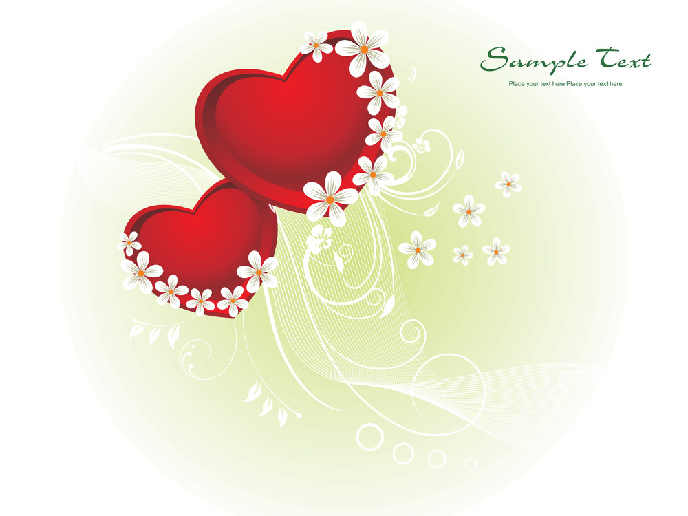 creative illustration for valentine day royalty free stock image