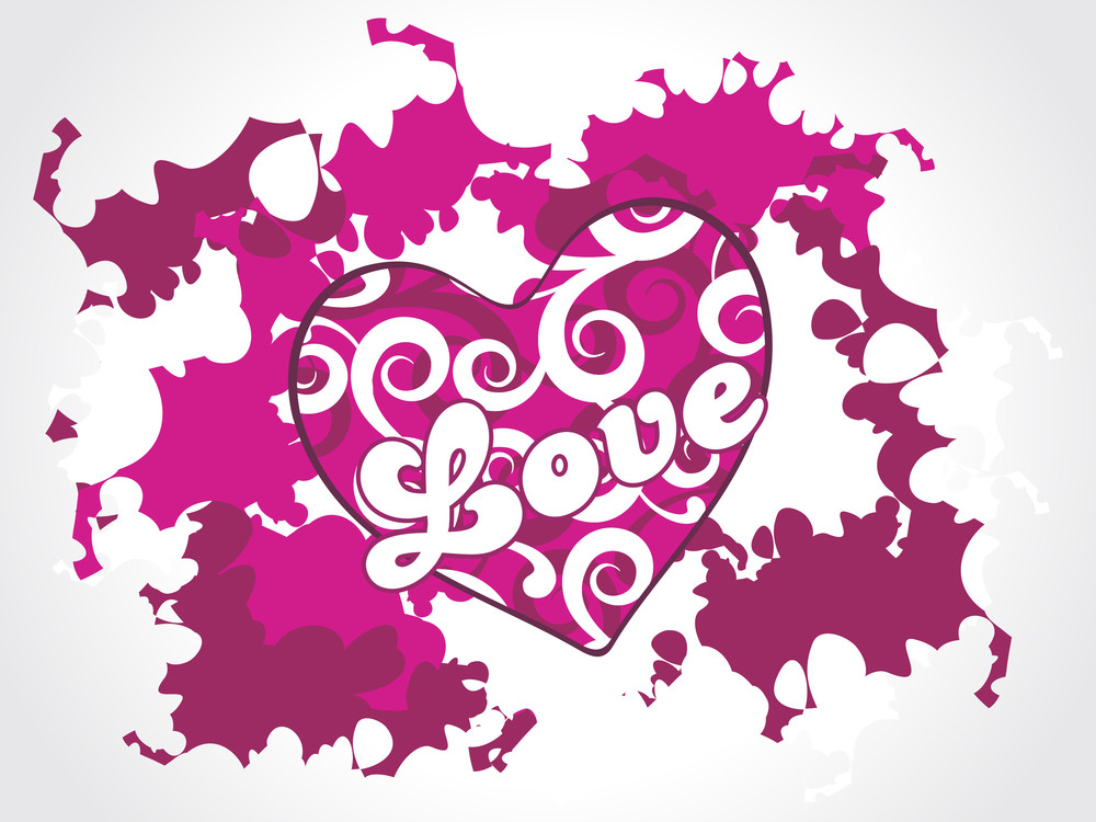 Creative Illustration For Valentine Day