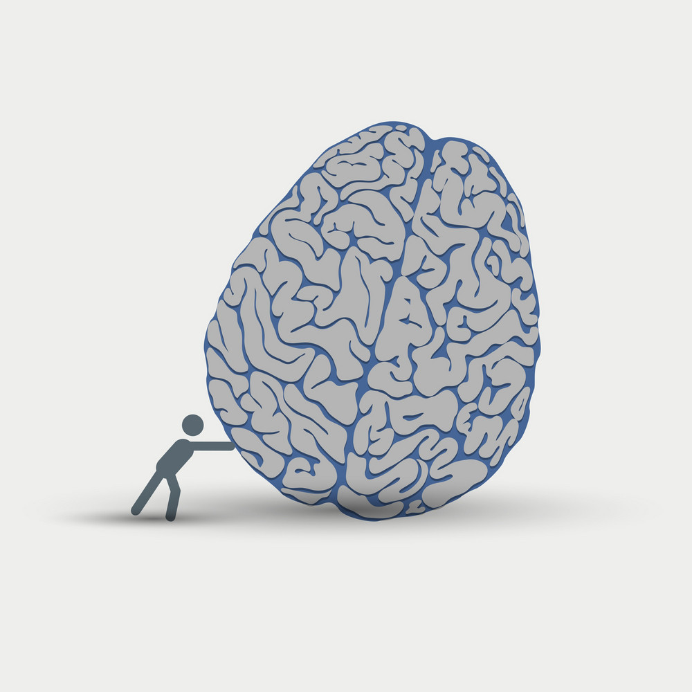 Creative Illustration Of Intellection