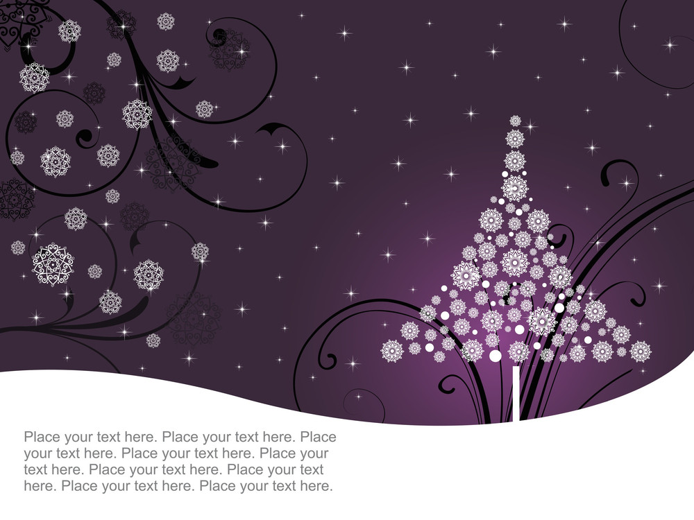 Creative Pattern Background For Christmas Day