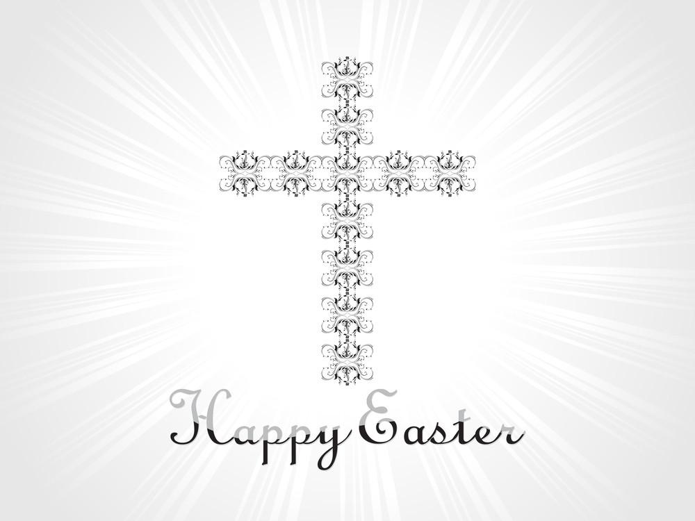 Creative Pattern Cross Illustration