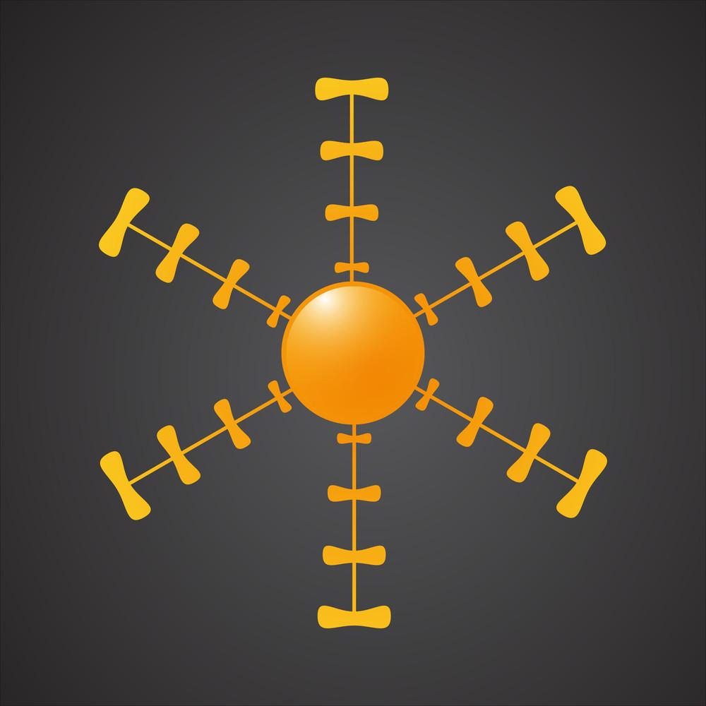 Creative Sun Icon