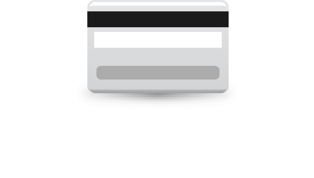 Credit Card Back Lite Plus Icon