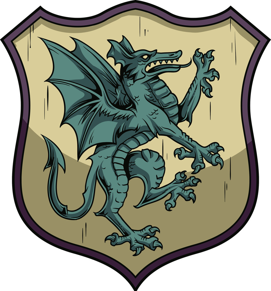 Crests Vector Element