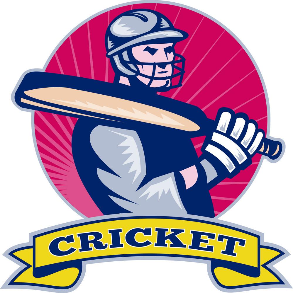 Cricket Sports Batsman Bat