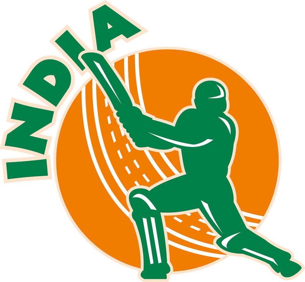 Cricket Sports Batsman Batting India
