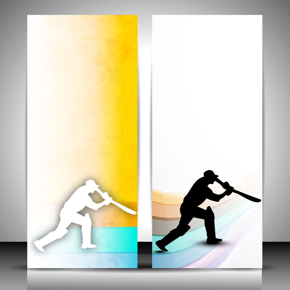 Cricket Website Banners