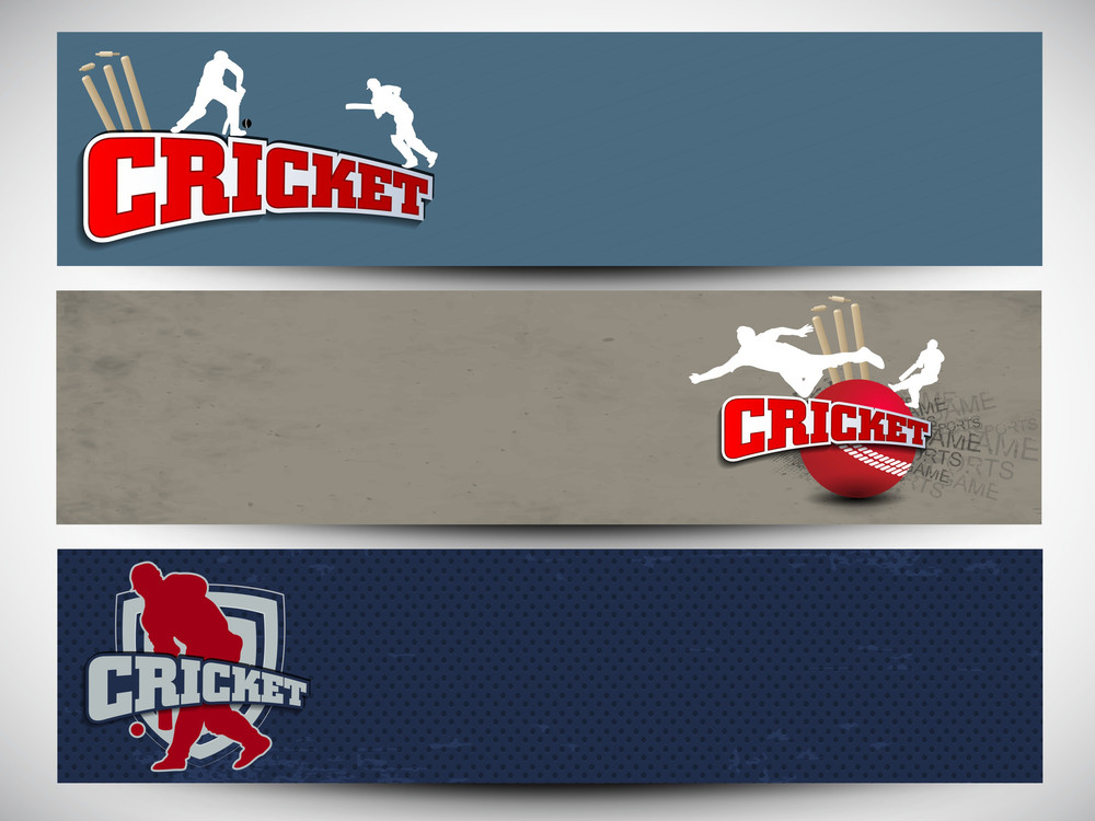 Cricket Website Headers Or Banners