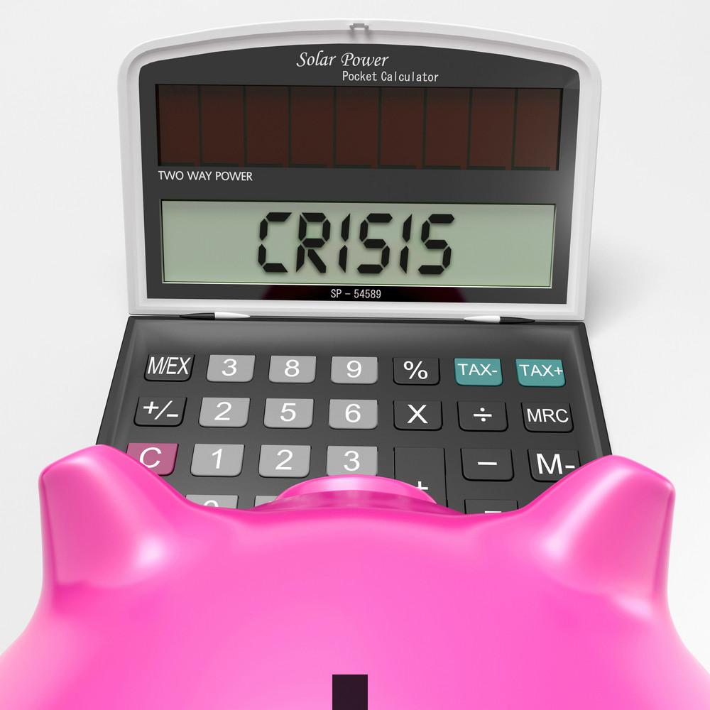 Crisis Calculator Shows Economic Panic And Worry