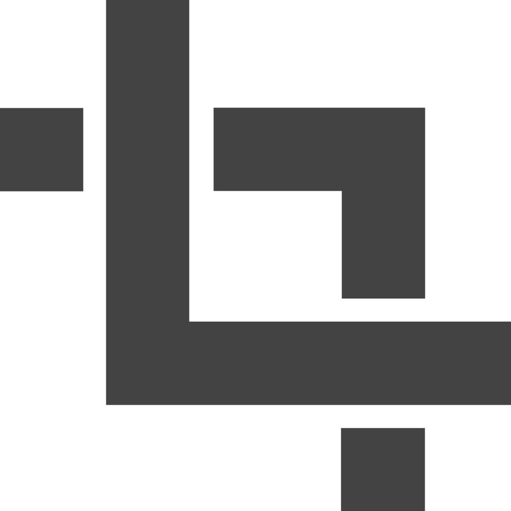 Crop 2 Glyph Icon