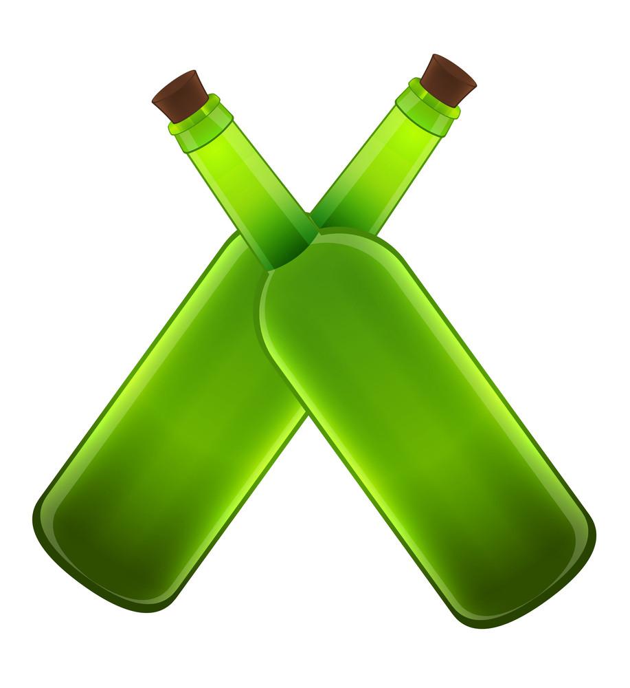 Cross Beer Bottles