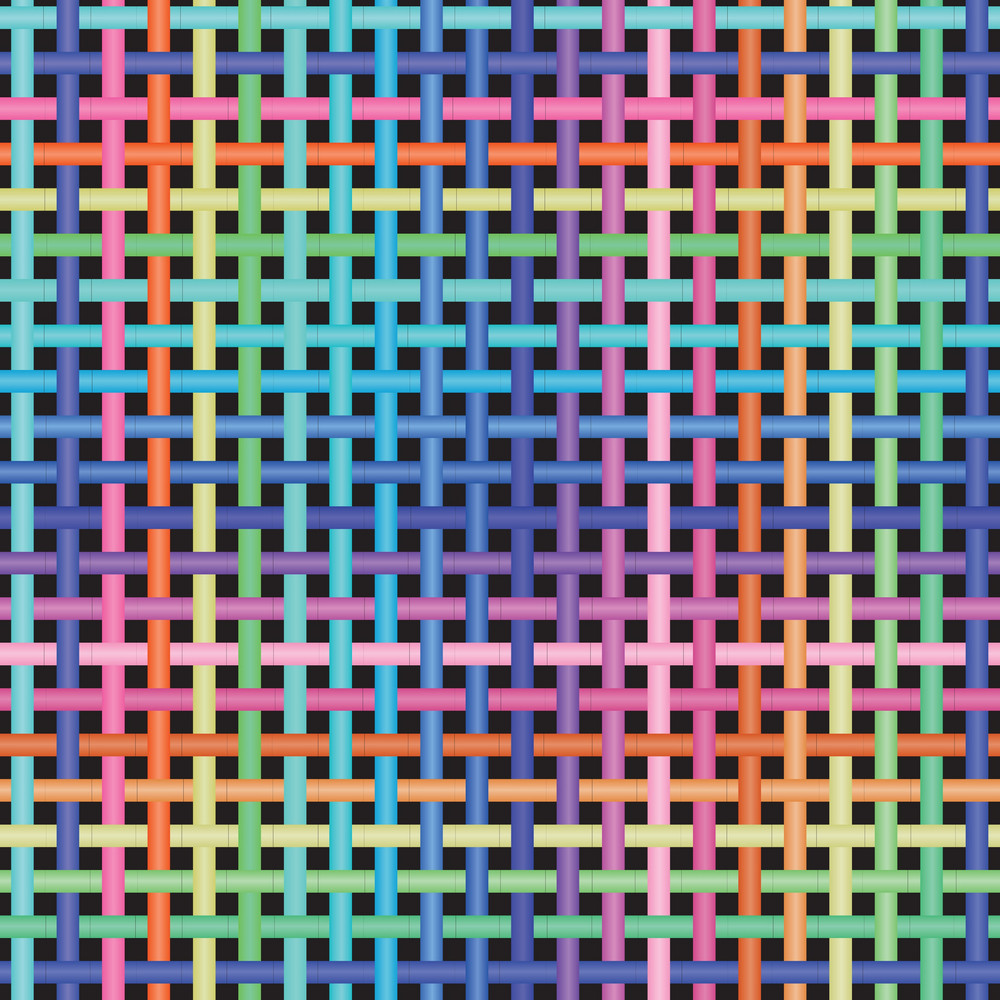 Crossed-pattern