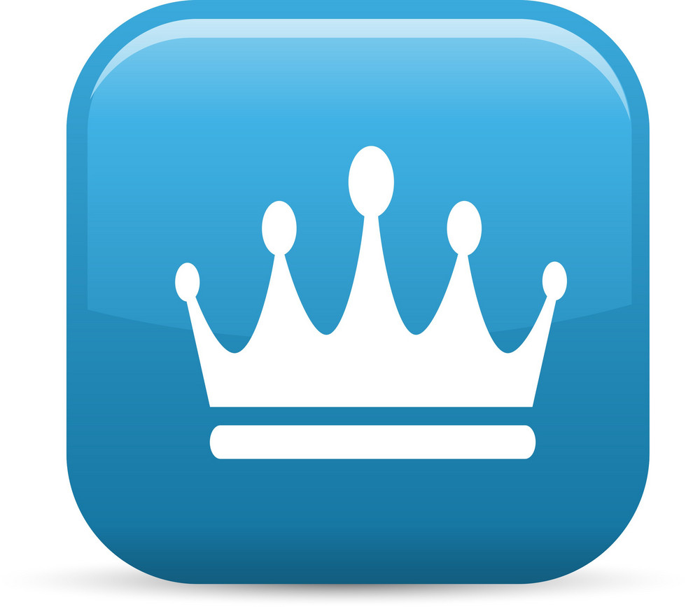 Crown Elements Glossy Icon