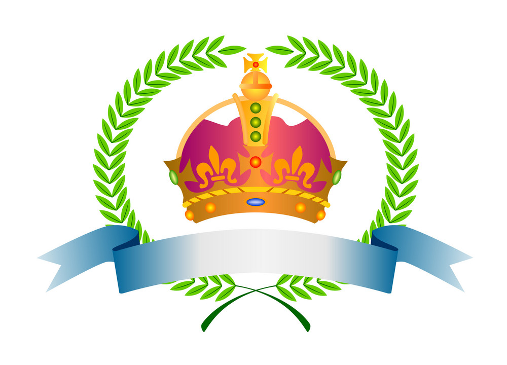 Crown In Olive Leaves