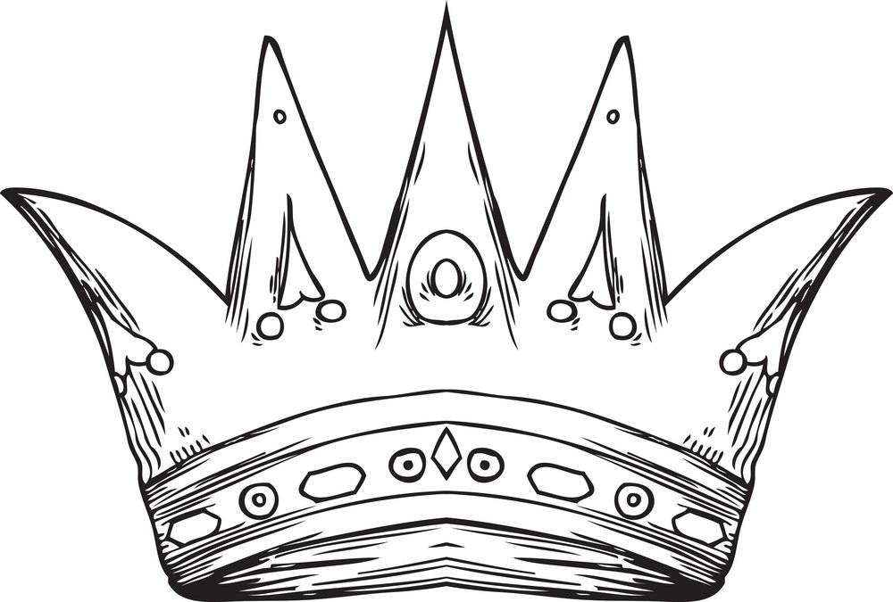 Crown Vector Element