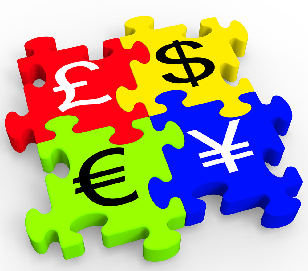 Currency symbols puzzle showing forex royalty free stock image currency symbols puzzle showing forex biocorpaavc Images