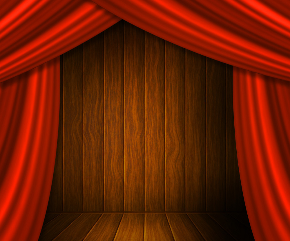 Curtain Spotlight Texture