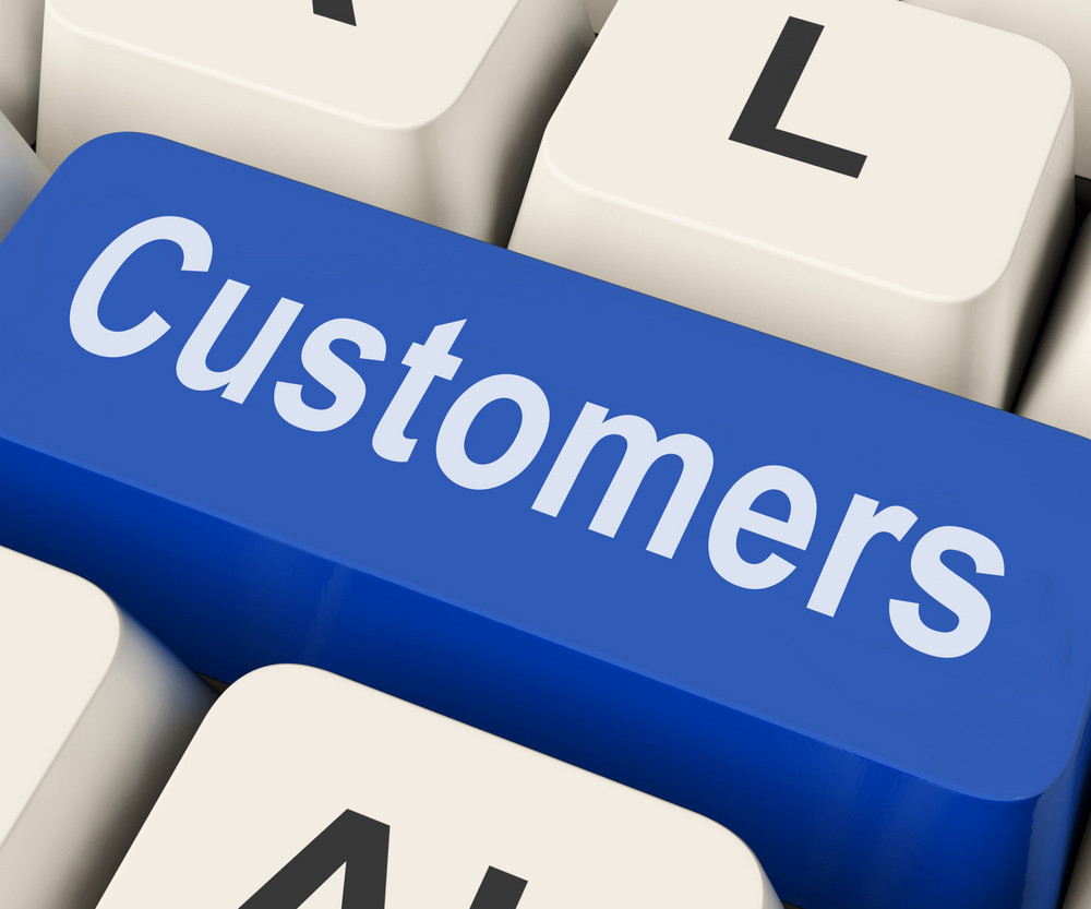 Customers Key Means Consumer Or Buyer