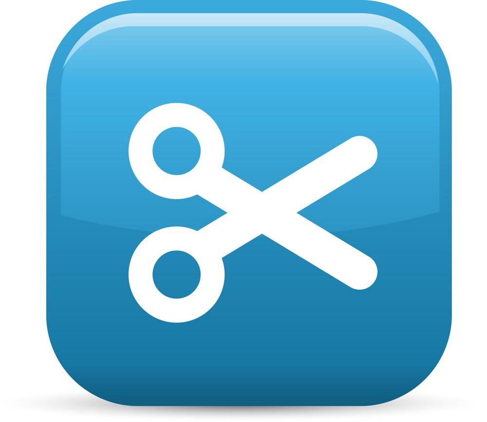 Cut Elements Glossy Icon