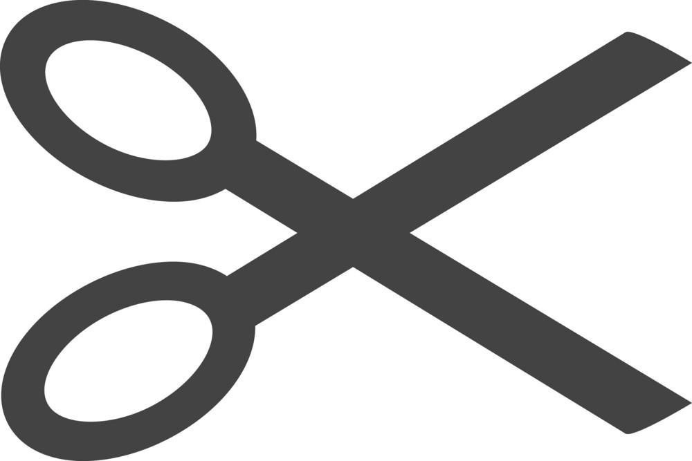 Cut Glyph Icon