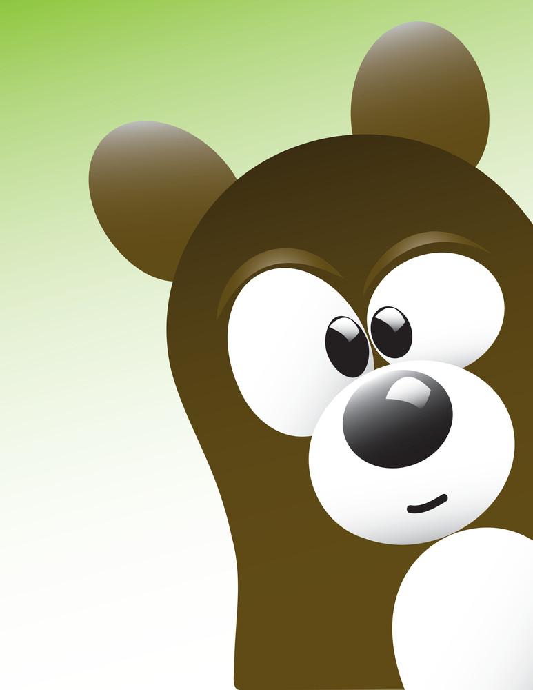 Cute Bear Character