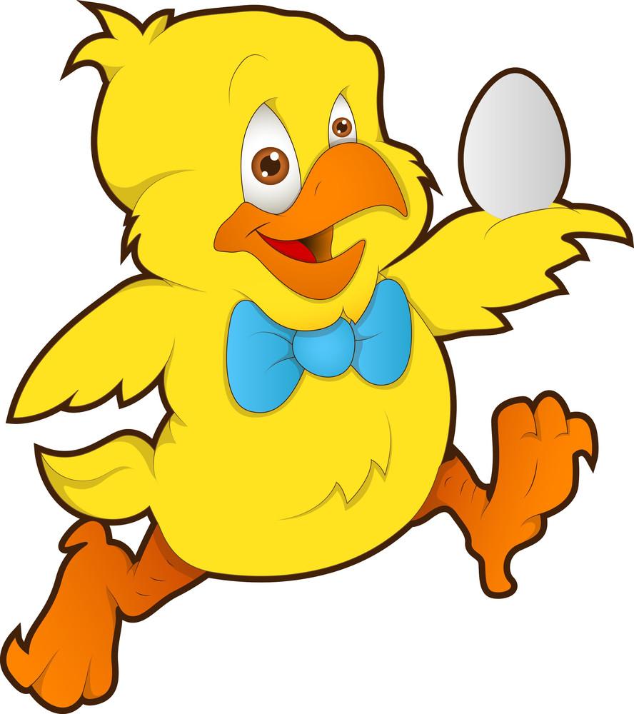 Cute Chicken - Cartoon Character