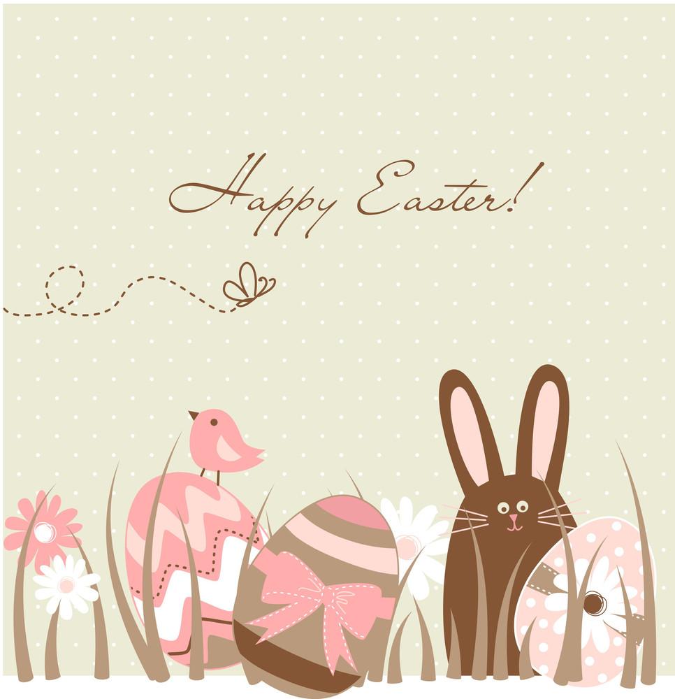 Cute Easter Egg Card
