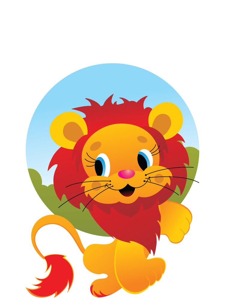 Cute Lion Wallpaper
