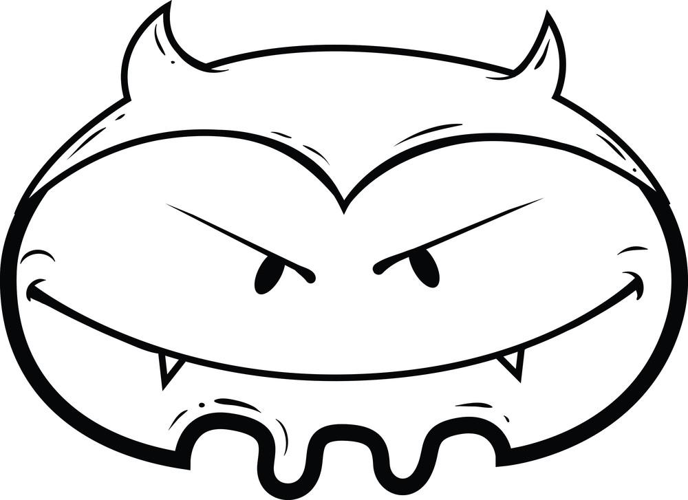 Cute Monsters Vector Element