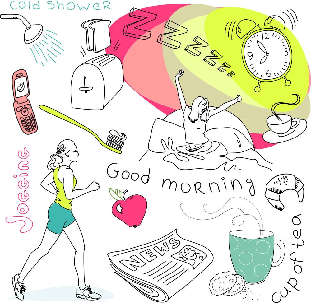 Cute Morning Doodles-