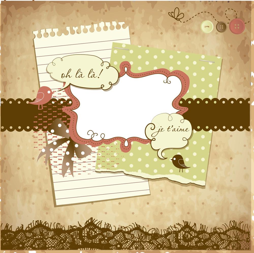 Cute Scrapbook Elements