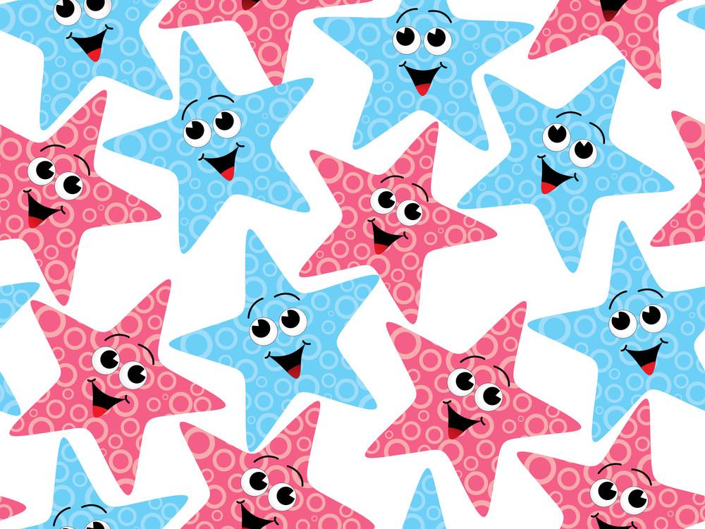 Cute Starfish Background