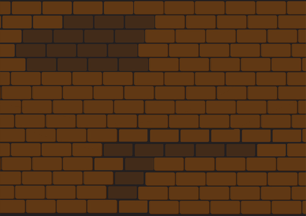 Damaged Brick Wall
