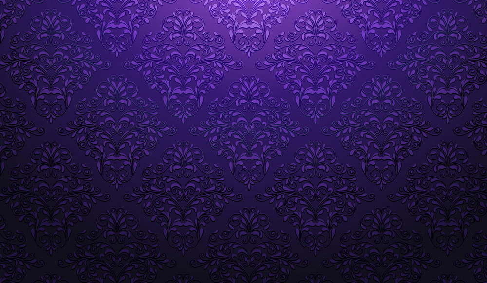 Damask Wallpaper Vector Illustration