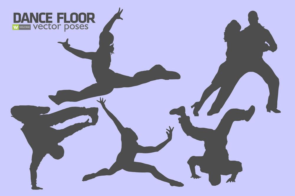 Dance Floor Poses