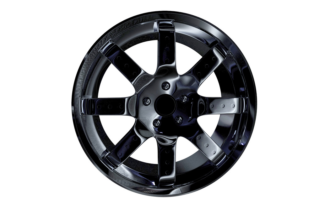 Dark Alloy Wheel