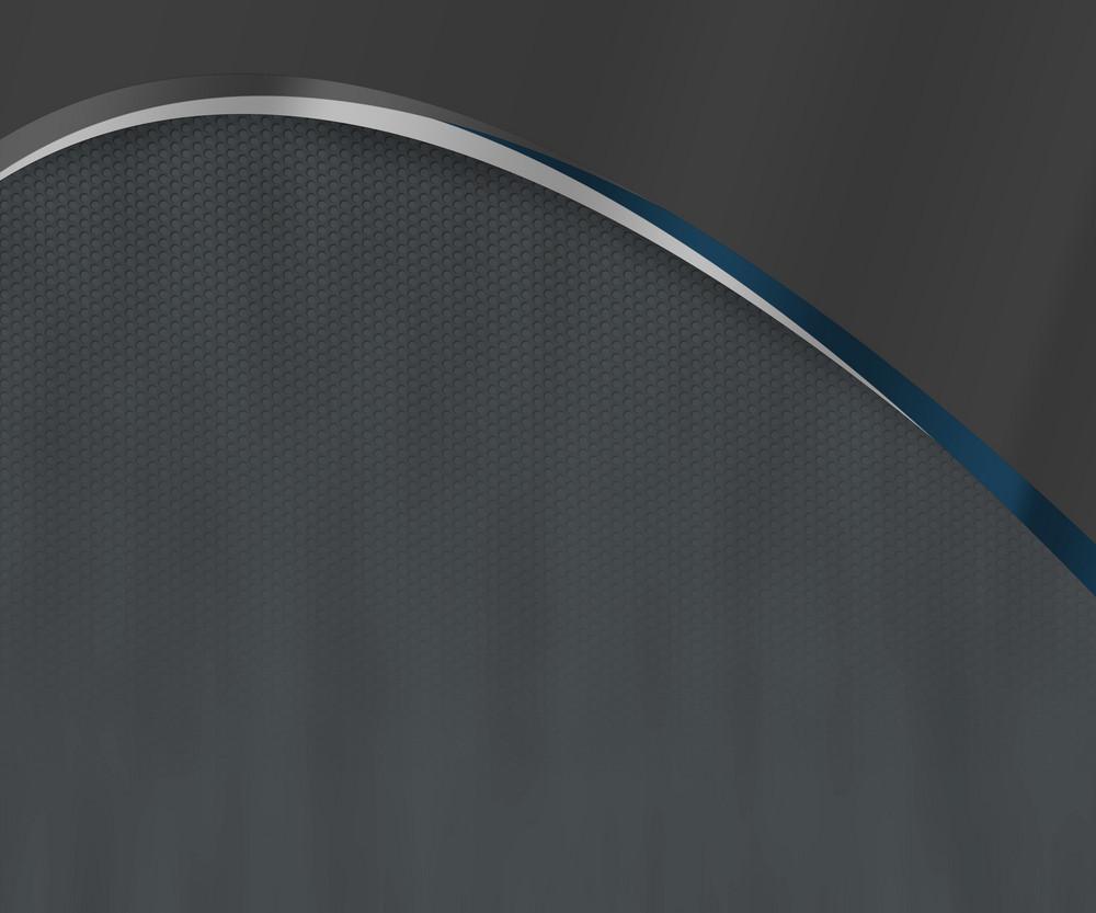 Dark Blue Arc Shapes Background