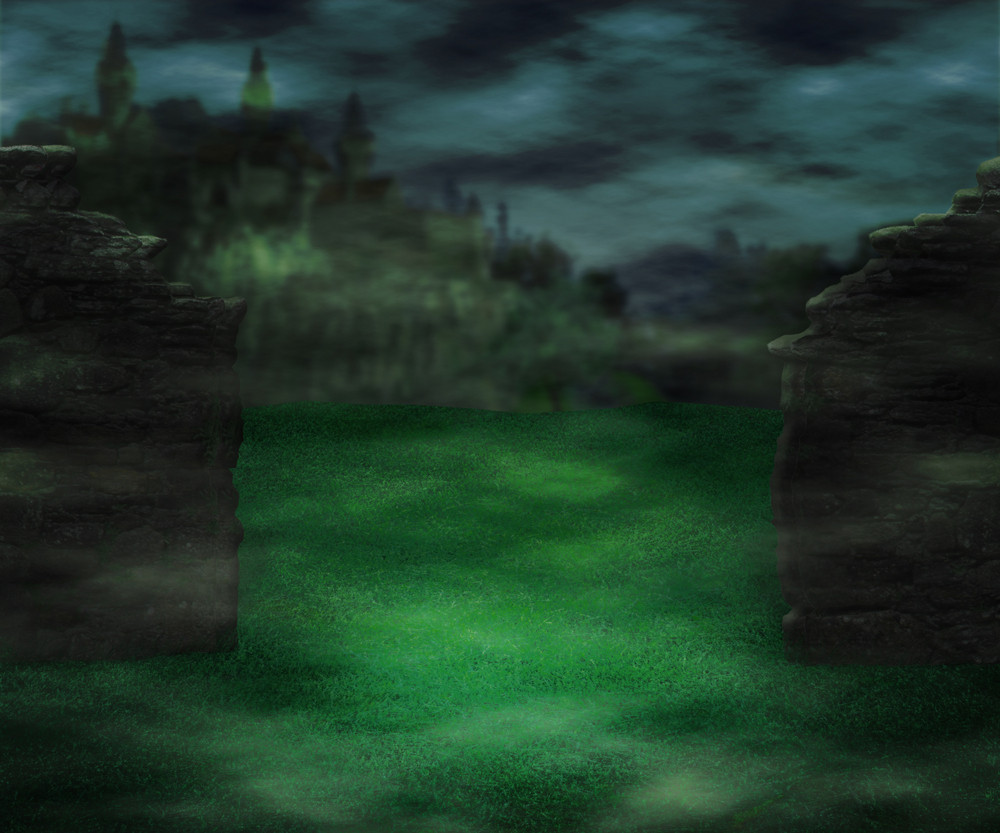 Dark Castle Fantasy Backdrop