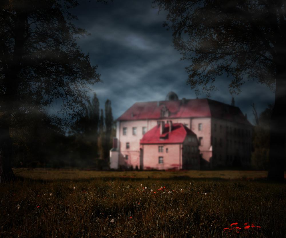 Dark Castle Fantasy Background