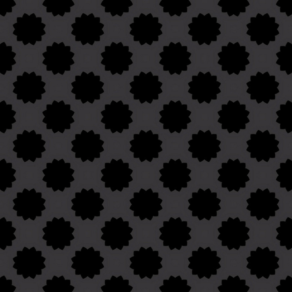 Dark Foral Pattern