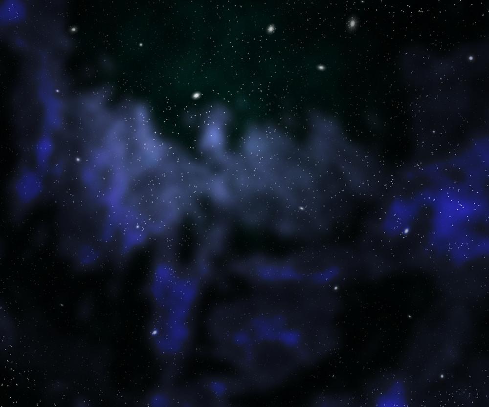 Dark Nebula Outer Space Backdrop