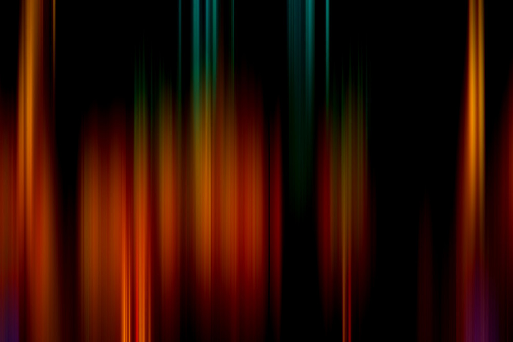 Dark Retro Blur Lines Background