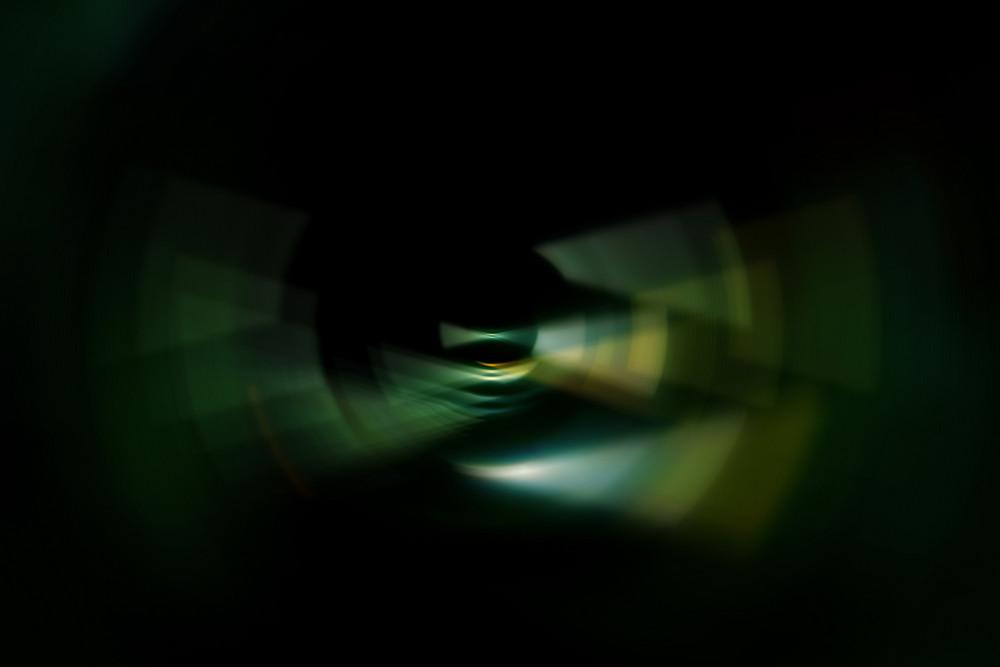 Dark Ripple Abstract Blurred Background
