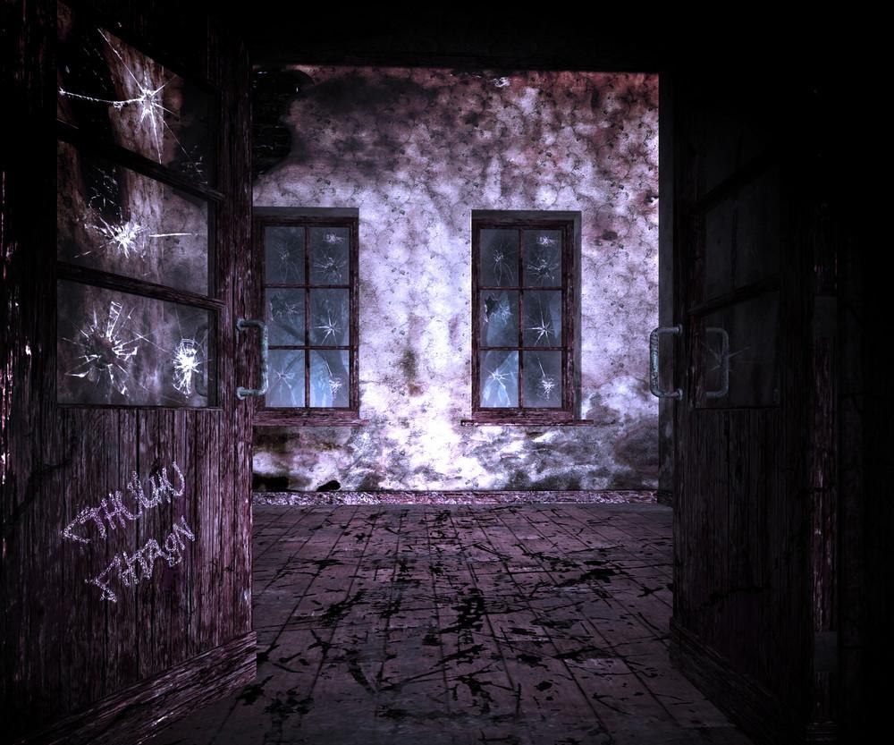 Dark Room Halloween Backgrounds