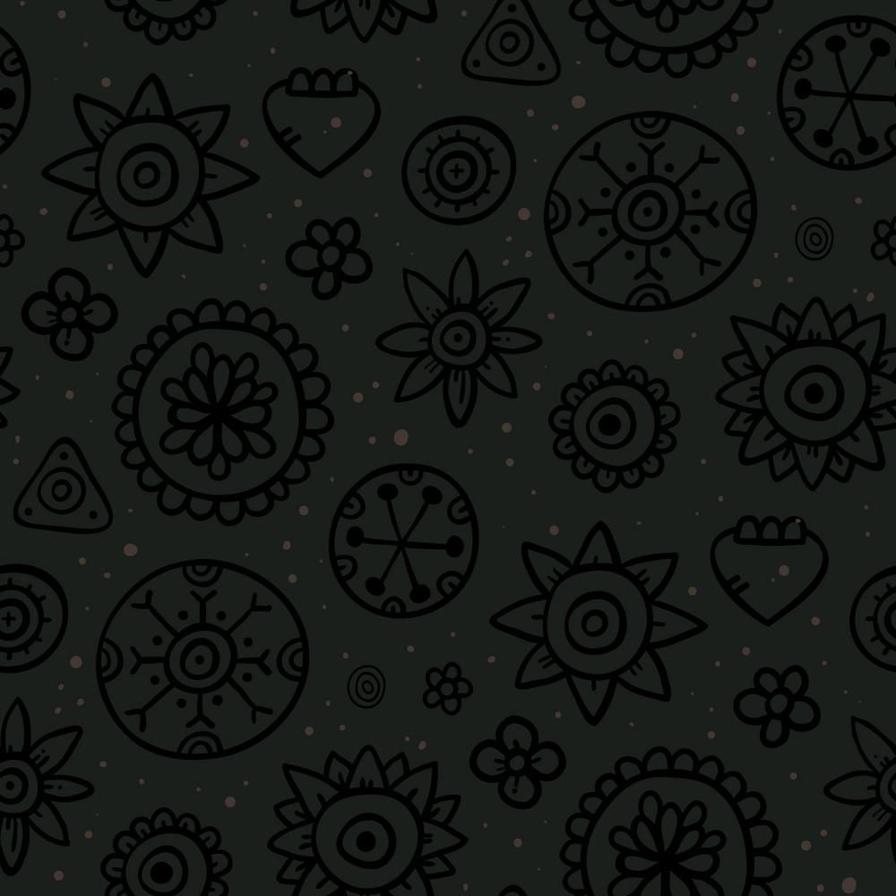 Childish Seamless Background
