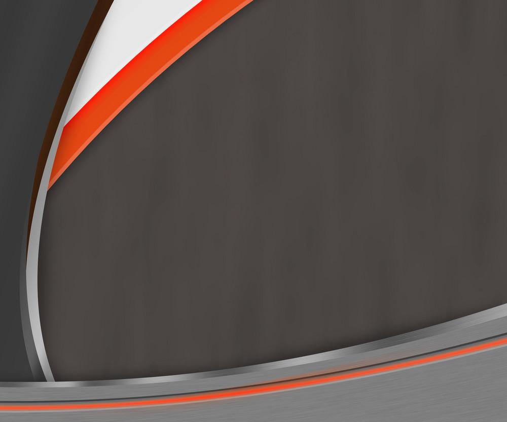 Dark Shapes Orange Background Texture